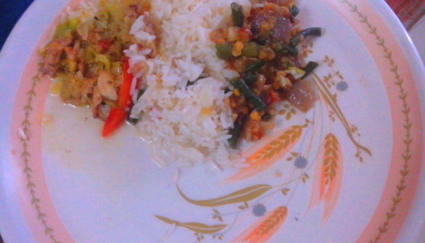 Chicken dal bhat po naszemu