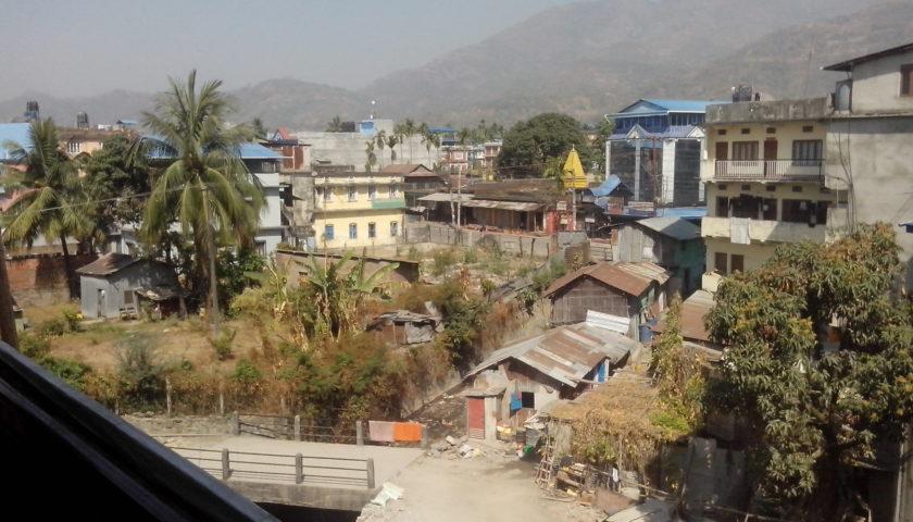 Wschód Nepalu: Dharan i Mahabharat Range