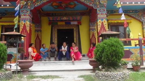 Klasztory buddyjskie w Pokharze