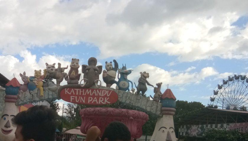 Kathmandu z dziećmi: fun park