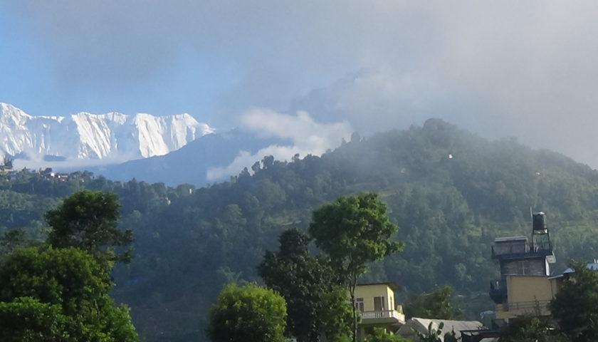 Monsunowe obrazki z Nepalu