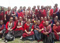Kobiety Gurung Sikles