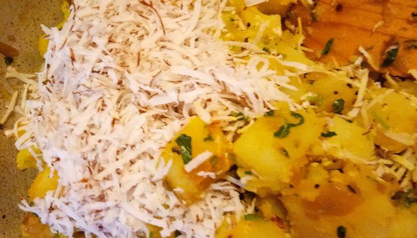 Methi sabji – ziemniaczki festiwalowe