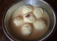 Rasmalai – indyjski przysmak serowy