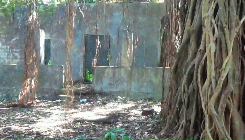 Goa: fort Cabo de Rama