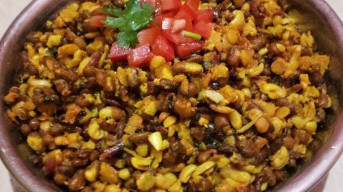 Matki Usal: curry z kiełkowanej fasolki matki