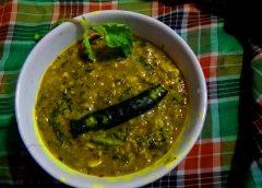 Arai keerai curry czyli sos z amarantusa