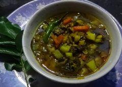 Vendakai sambar - tamilska zupa