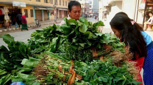 Hariyo Saag: zielone warzywa liściaste w Nepalu