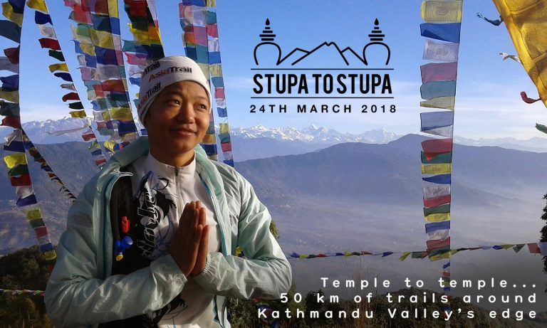 Stupa to Stupa ultramaraton: od Swayambhu do Bouddha