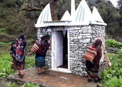 Gurung świątynka na wzgorzach
