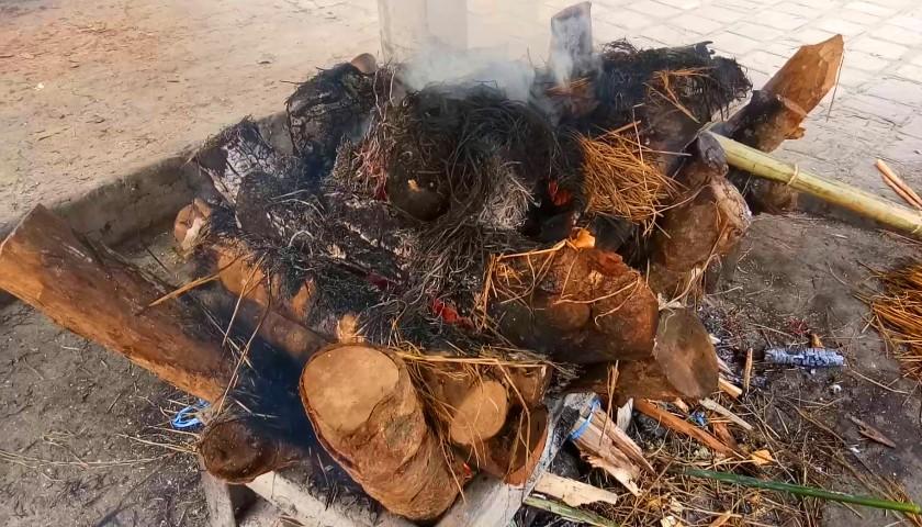 Rytuał pośmiertny Tamangów