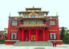gompa Shechen front