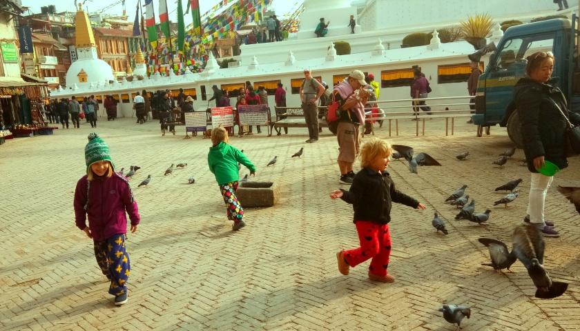 Dzieci Kathmandu