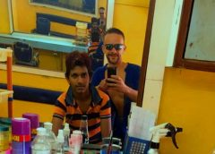 Goa, wizyta u fryzjera