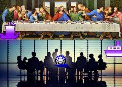 Тайная вечеря - святые русские князья