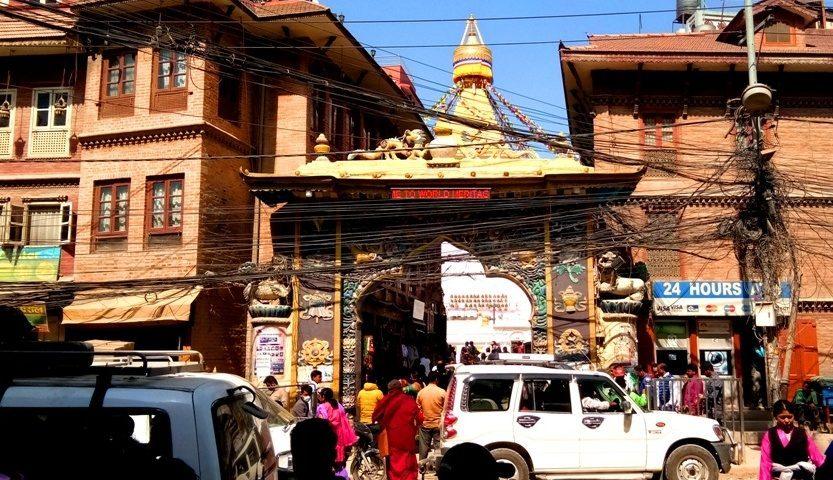 Kathmandu: a visit to Boudanath