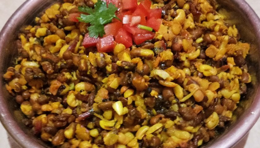 Matki Usal: curry made of sprouted moth beans