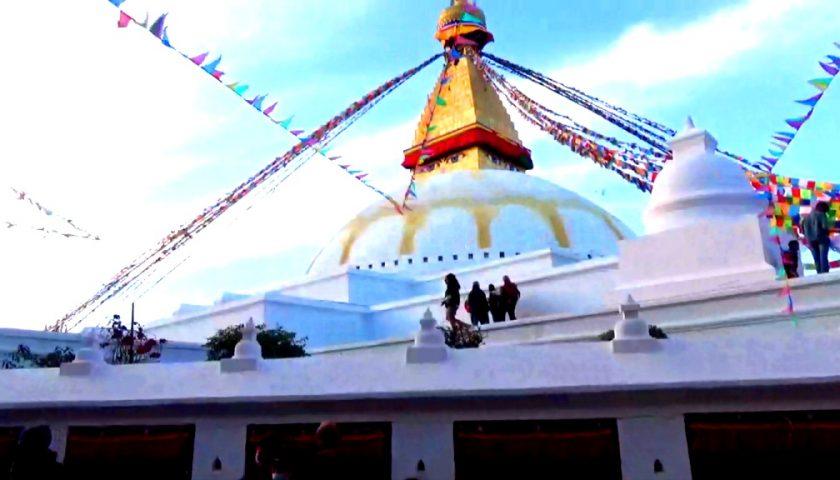 Kathmandu, Stupa Bauddhanath: history and legend