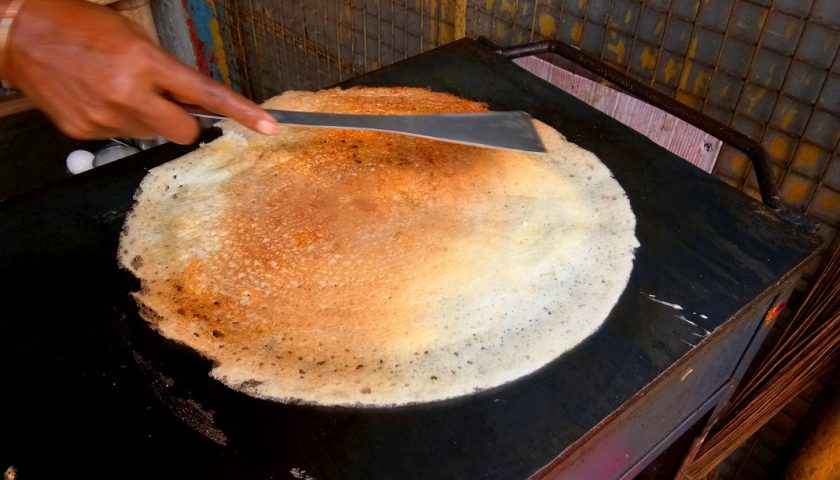Masala dosa – Indian breakfast