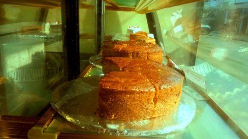 Kathmandu, High Himalaya Bakery: cake on order