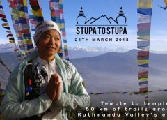 Running race from Stupa to Stupa
