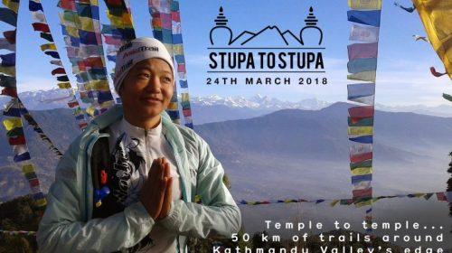 Stupa to Stupa ultramaraton: from Swayambhu to Bouddha