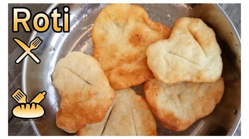 Roti – fried breads