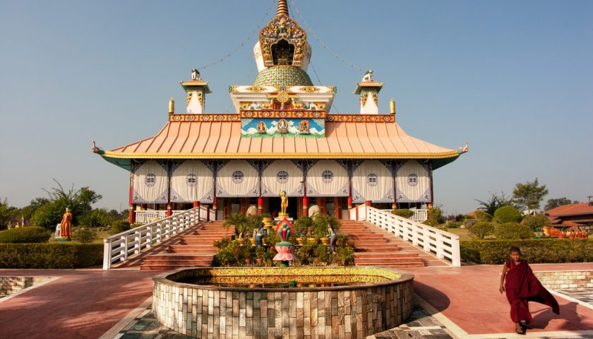 Lumbini: forgoten places of Buddha's life