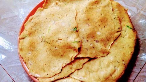 Masoor Daal Paratha – Indian pancakes with masoor lentils