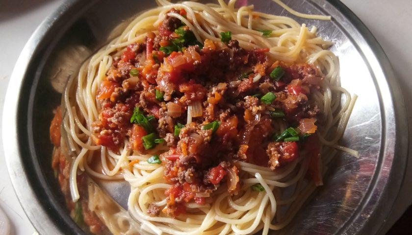 Spagetti bolonese