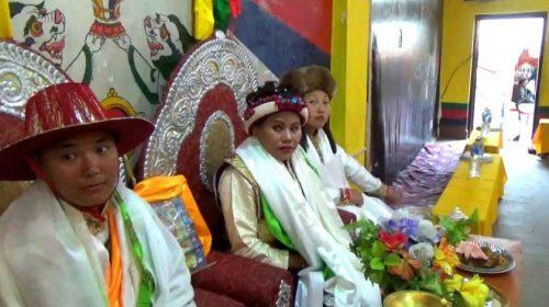 Tibetan wedding