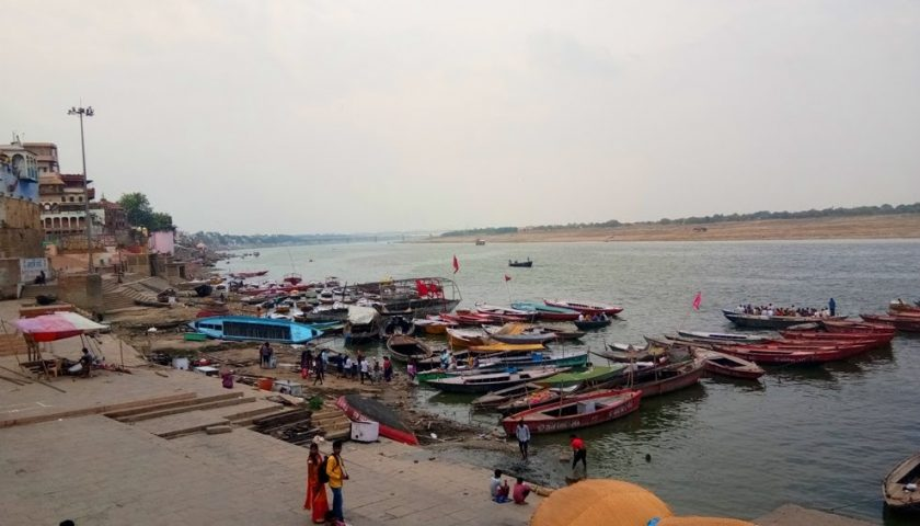 Last views from Varanashi