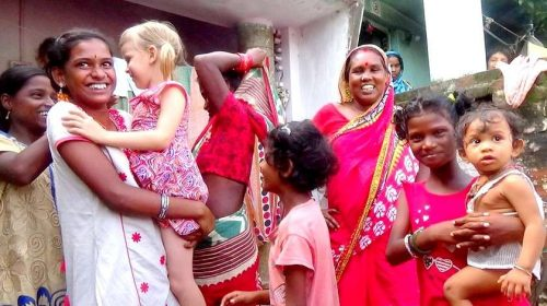 India – the country of simple and cheerful people