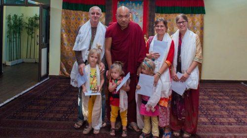Meeting with Karmapa