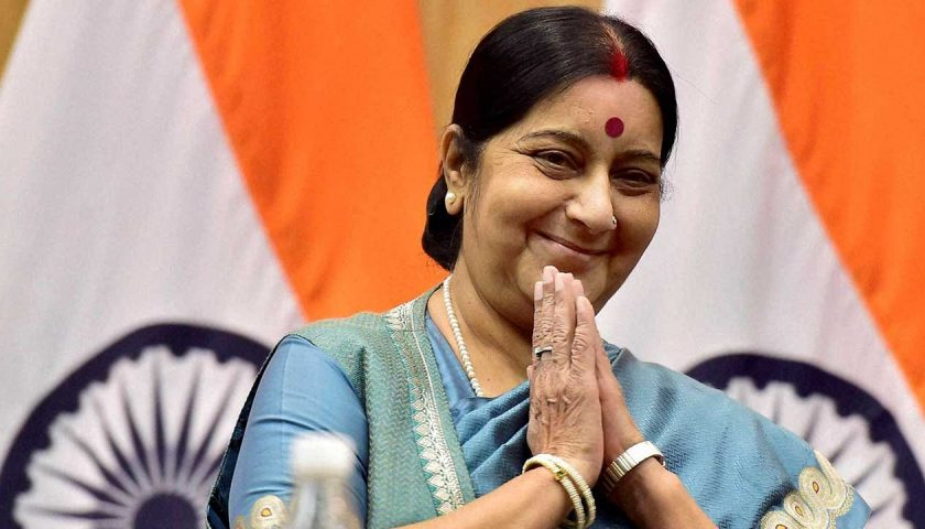 Sushma Swaraj is going to visit Kathmandu this week with PM Modi's message