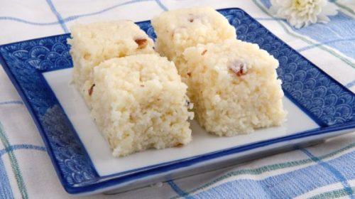 Nariyal barfi – Coconut biscuit