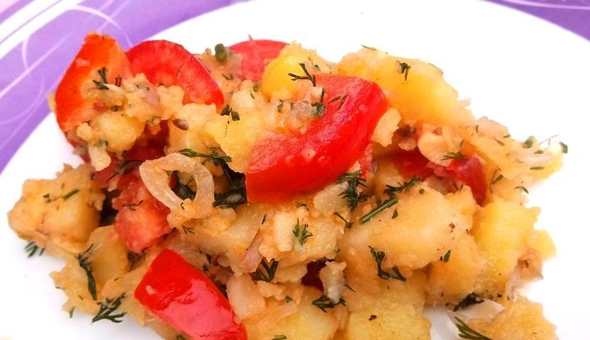 Aloo Sandheko – Potato salad