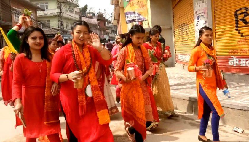Kathmandu: Sapta Jatra meaning seven day long festival