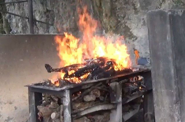 Cremation in India and Nepal