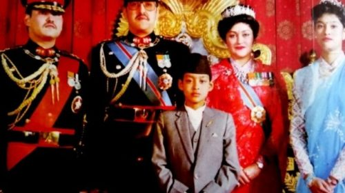 The last king of the Shah dynasty