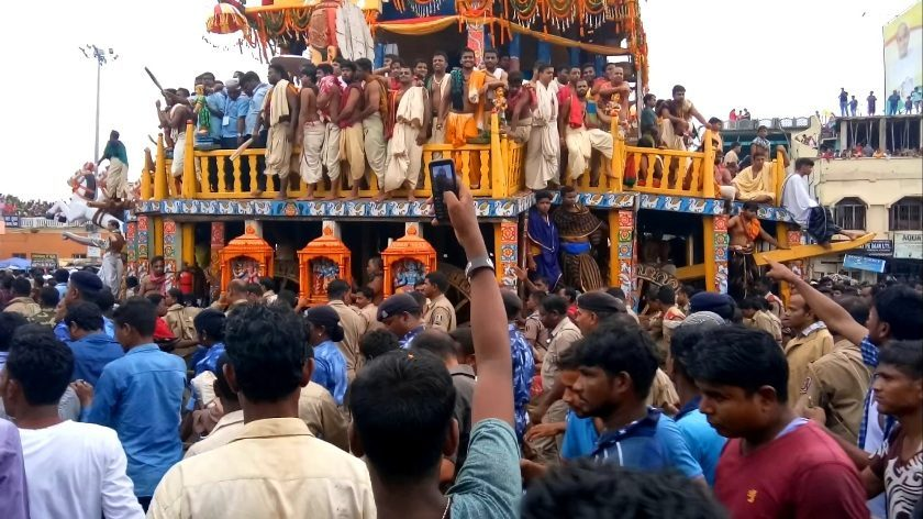 Puri: Ratha Yatra – the biggest festival of the year