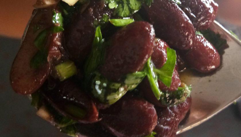 Rajma Sandheko – bean salad