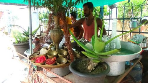 Puri: tea shop of Mr. Prasan Das