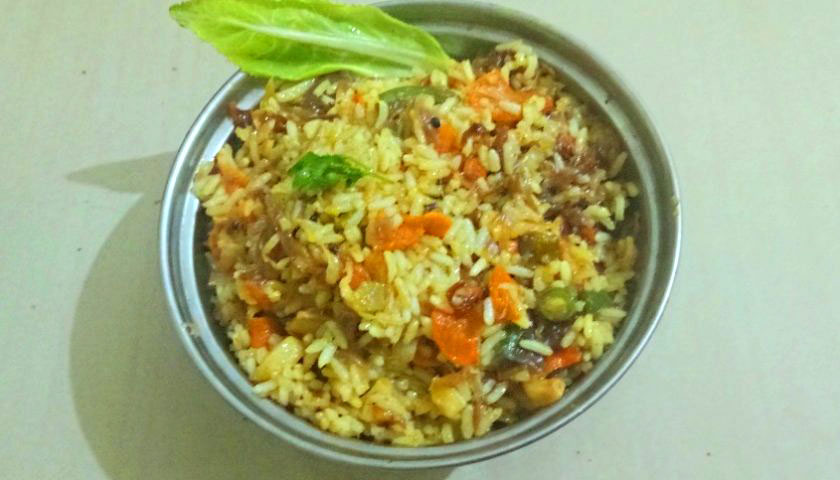 Biryani – rice with vegetables