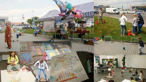 Celebrating Children's Day in Krakow