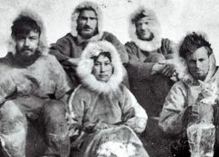 The story of a woman who survived on Arctic Island